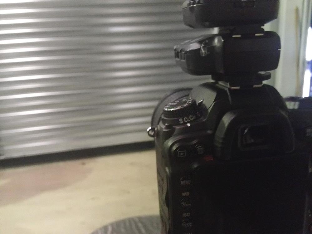 Kameraet i position