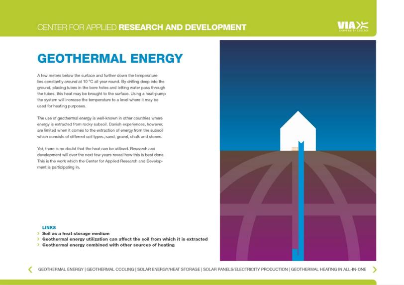 Geothermal Energy Online brochure, og messe-materiale