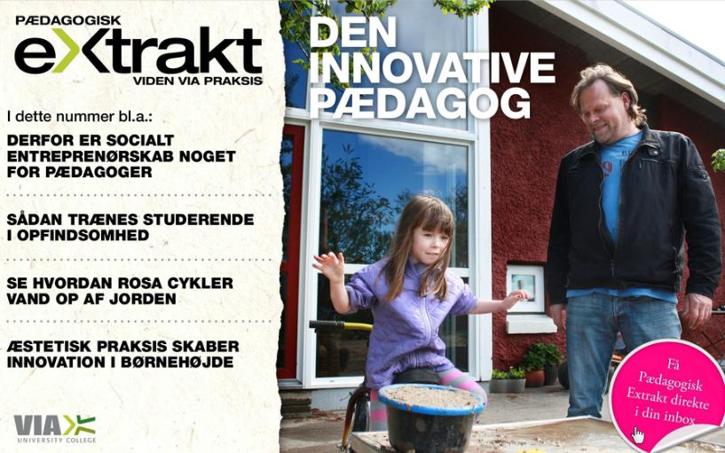 Pægagogisk Extrakt 03 Tema: Den innovative pædagog