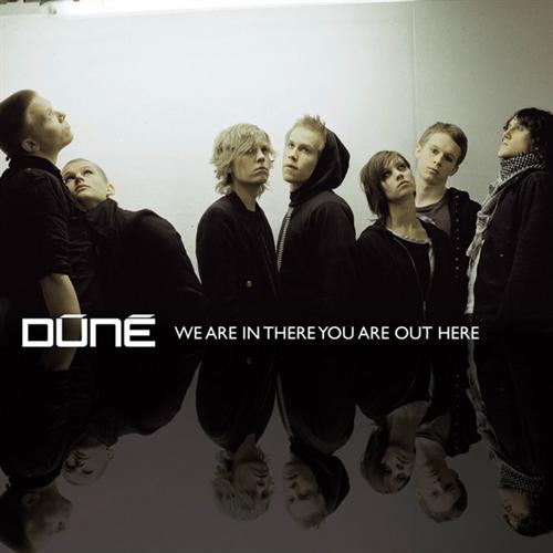 """Dúné Layout og grafisk identitet m.m. på bandets Danish Music Award-vindende debutalbum """"We are in there you are out here) (2007)"""
