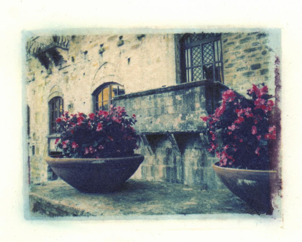 Flower Pots, Tuscany