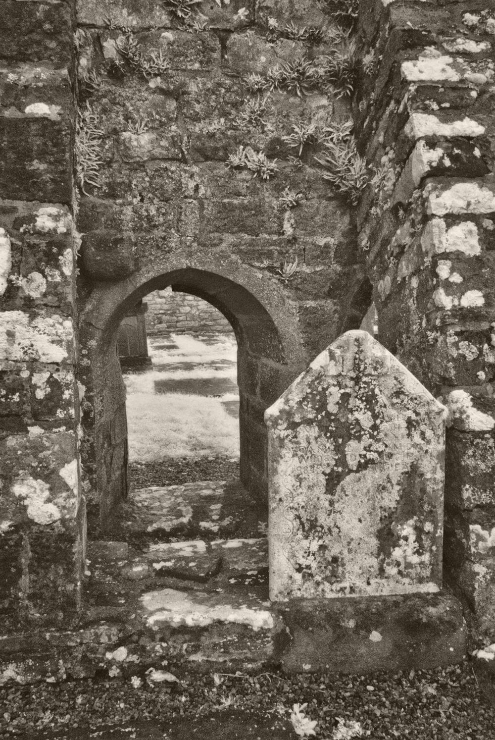 Arch, Burrishoole Abbey