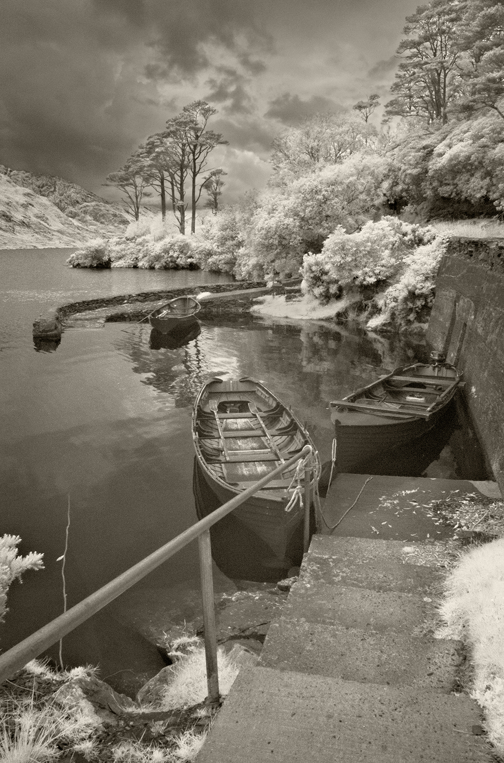 Boats at Dhu Lough
