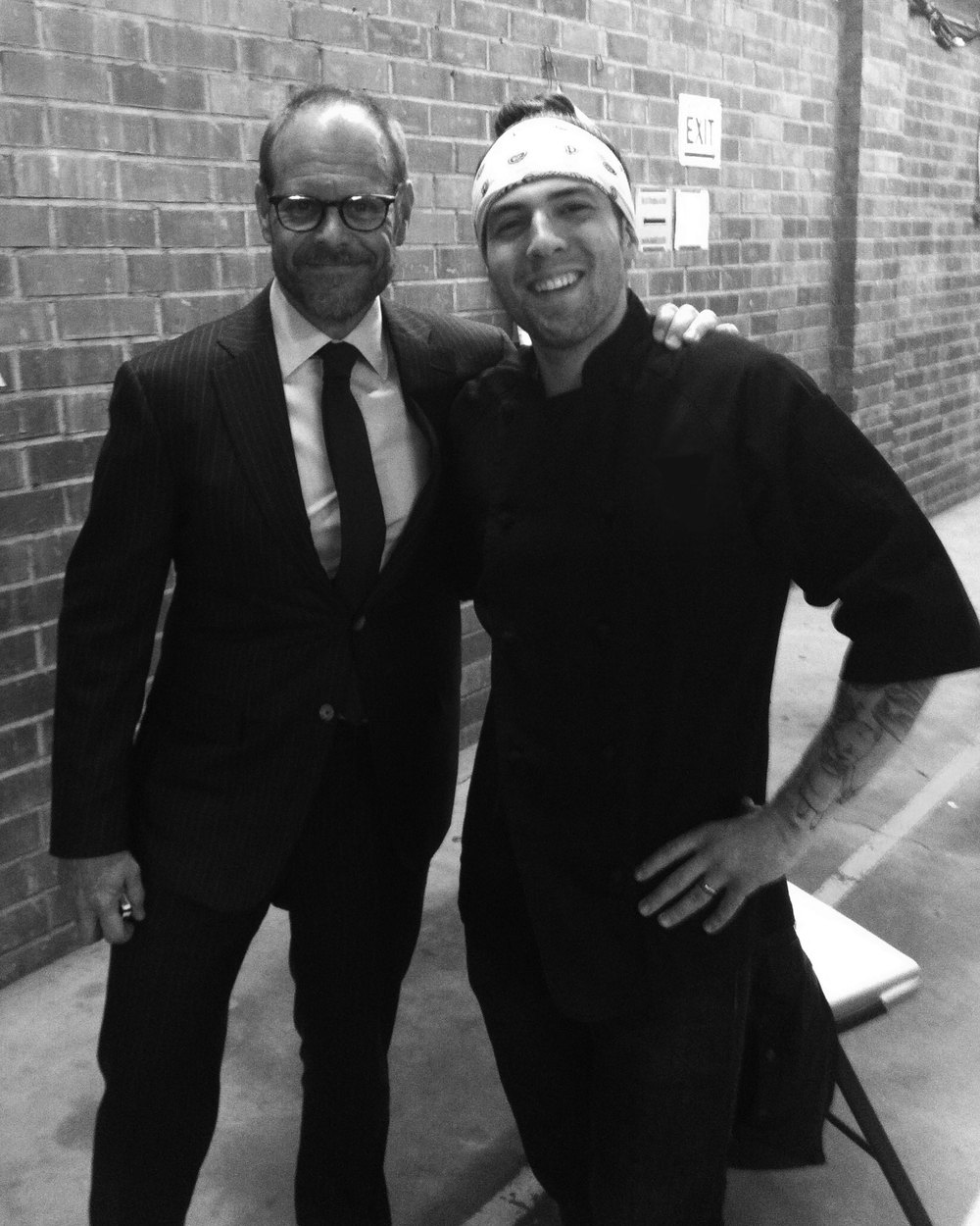 Samuel Monsour & Alton Brown