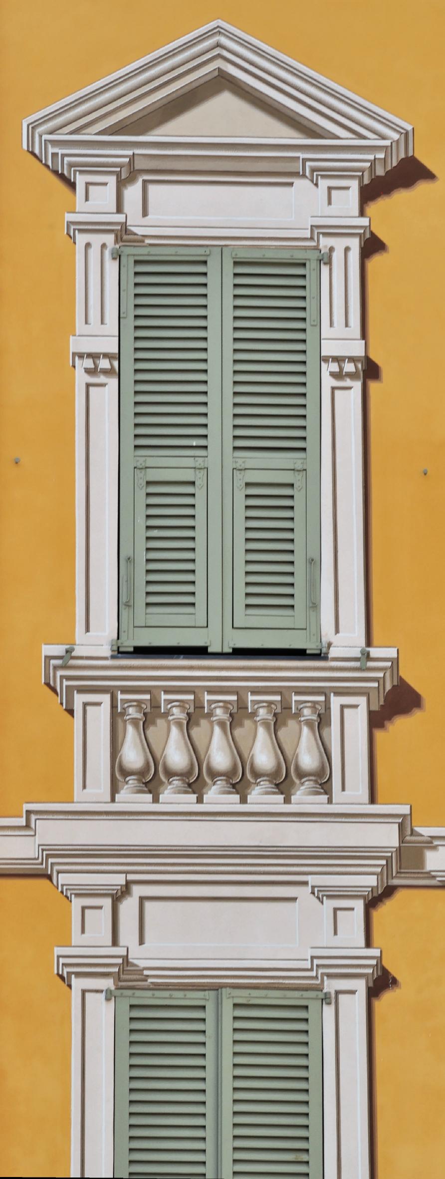 Décors à la chaux Place Garibaldi