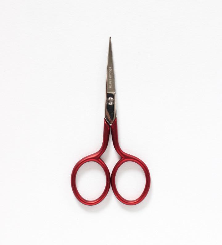 Scarlett red scissors