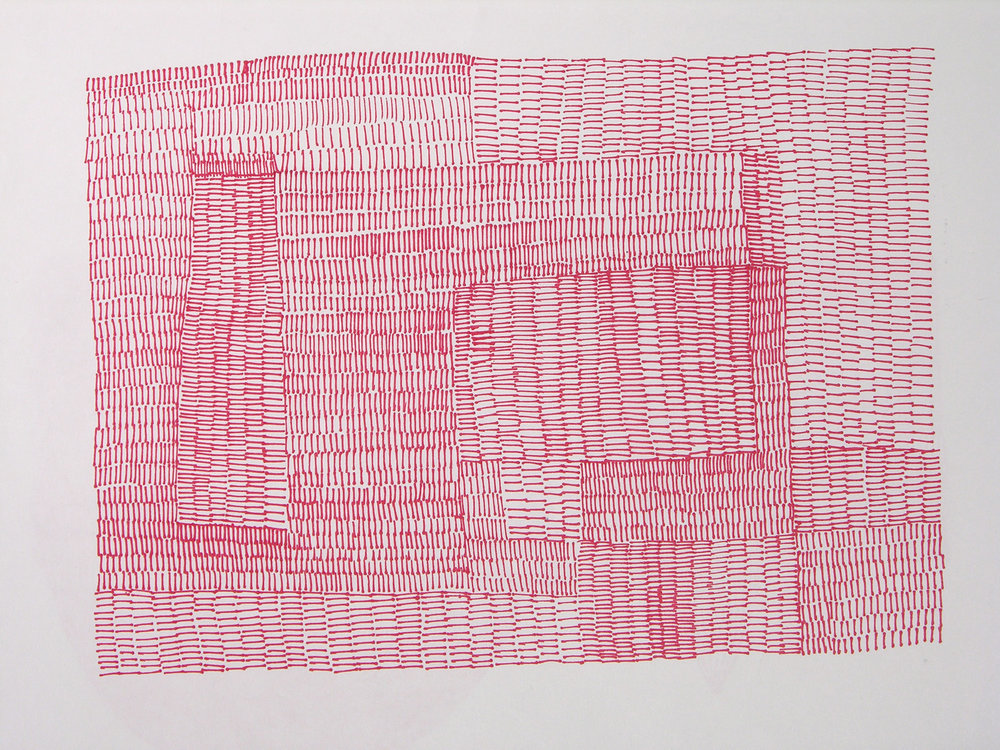 Drawn RED MAP, 2009