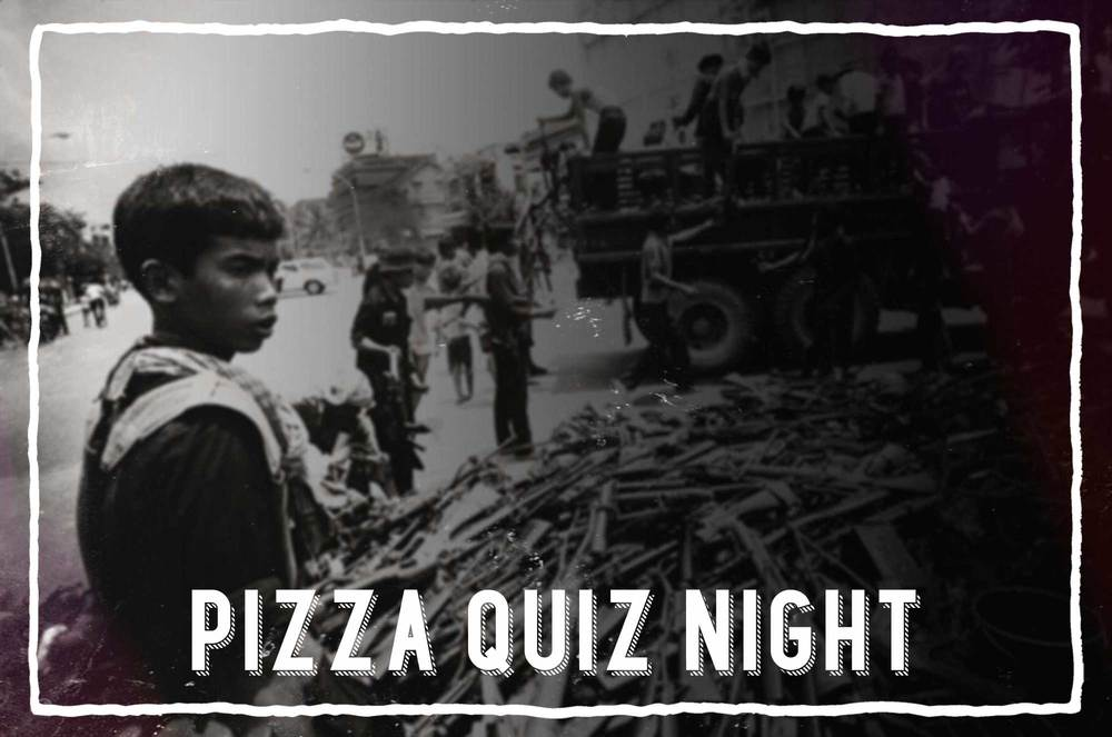 EVENT     20 June:   Fancy Pizza and Quiz night while raising support for the poor and needy?    Bread & Life International is organising a pizza quiz night in a friendly and relaxed environment at Woodlands Church, Bristol whilstraising funds to support this summer'sprojects in Cambodia.  C    ome and join us all are welcome!