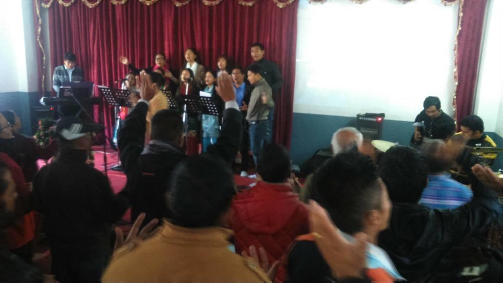 1st service at Ps Suman's church