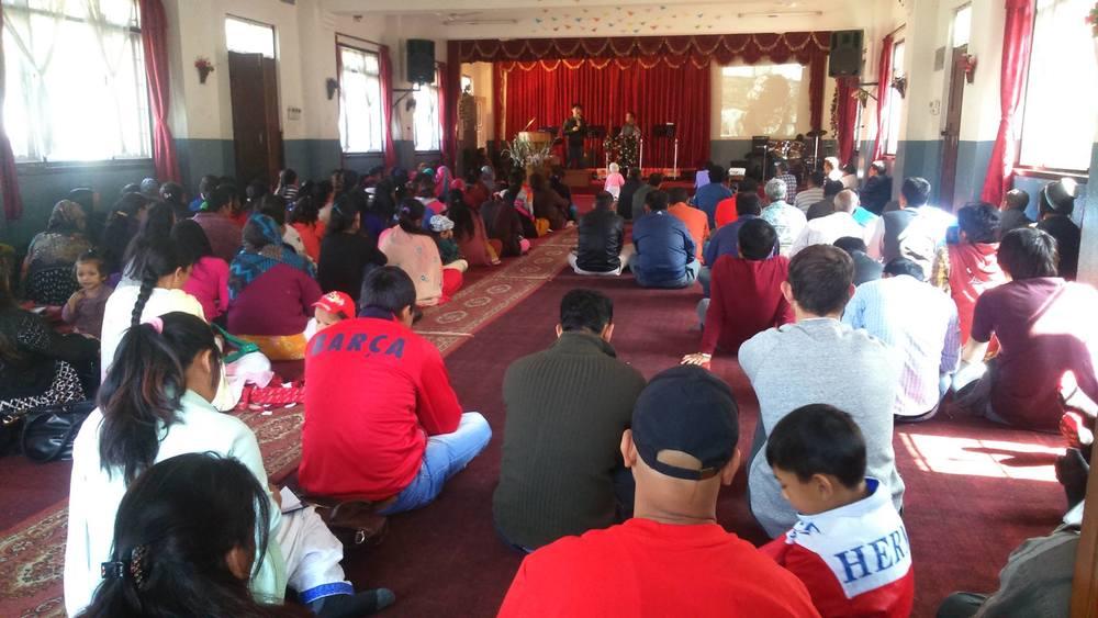 2nd service at Ps Suman's church