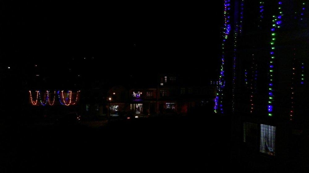 Light decorations...