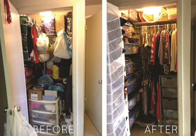 """I want you to know how much I truly love my closet. The shoe holder that you recommended is wonderful. This closet is the gift that keeps on giving - everything is so much easier to find, and I don't feel overwhelmed anymore when I need to find something. Thank you!"" - L.G."
