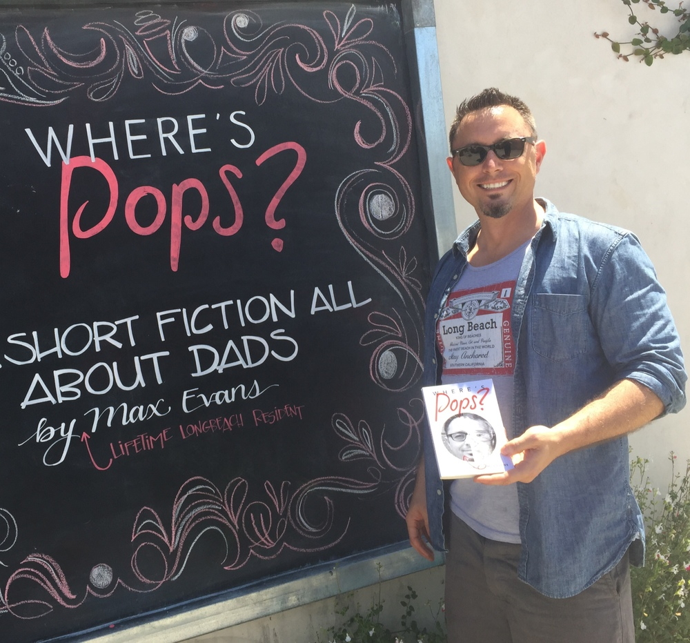A graduate of CSULB's MFA program, Max Evans is the quintessential Long Beach writer: born here, raised here, gonna die here. But in the meantime, he has published the first collection of short fiction that focuses exclusively on fathers--the good ones, the bad ones, and the rest in-between. But regardless of where the male characters in  Where's Pops?  land on the spectrum of fatherhood, they each face relatable challenges such as financial pressures, relationship tests, and cooking dinner on time.