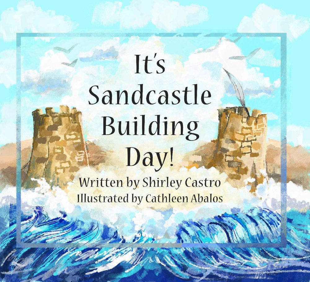 "In  It's Sandcastle Building Day   you are immersed in a family's journey to the beach, as you enjoy the gorgeous illustrations of artist Cathleen Abalos, and author Shirley Castro's short, rhythmic, repeatable phrases, designed to help kids read along.  You'll join right in with the family's fun as they gather up the important things to take with them, and then head to the beach to build their sandy masterpiece. The warmth and caring of the family members for each other shine through in the beautifully designed illustrations. The description of the parts of the sandcastle will inspire you to try out your own version the next time you go to the beach. And the phrase, ""Sand castle, land castle, pat it with my hand castle!"" will stick in your mind and make you smile."