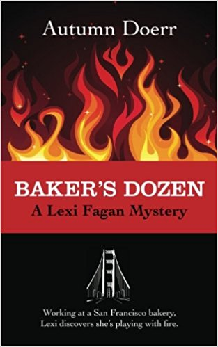 "In the first book of the Lexi Fagan Mystery series, ""Baker's Dozen,"" Lexi is newly arrived in San Francisco and lands a job working at McCracken's Bakery. When her lover, firefighter Jerry Stevens, turns up dead in a devastating hotel fire, Lexi has no time to mourn. Homicide detective Robert Reiger discovers Jerry's death was no accident. Caught up in the investigation, Lexi uncovers a shocking secret that just might get her killed."