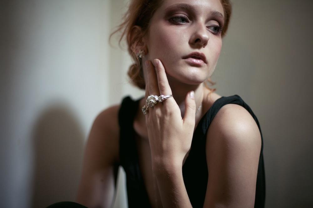 Niza Huang: Under Earth Irregular Studs   Jewelry > Earrings,Jewelry -  Hiphunters Shop