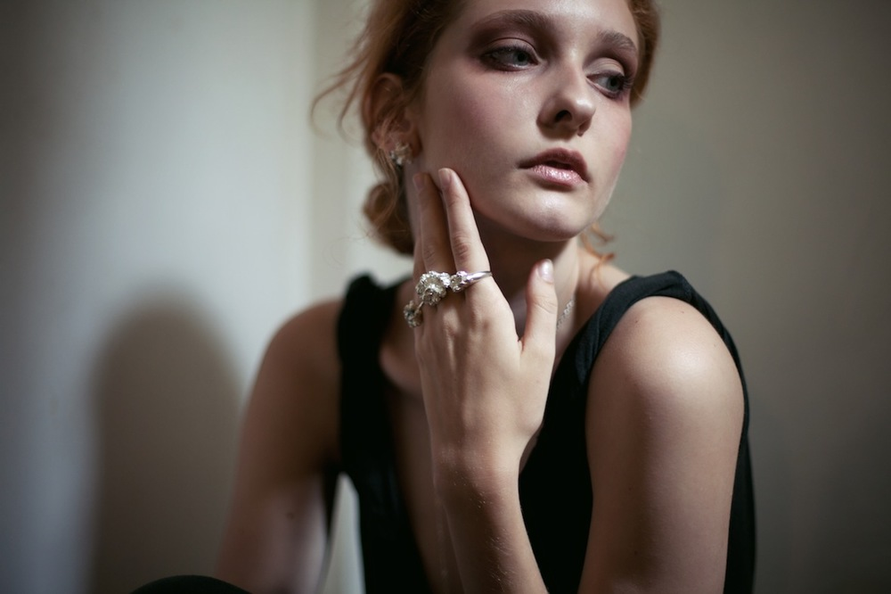 Niza Huang: Under Earth Irregular Studs | Jewelry > Earrings,Jewelry -  Hiphunters Shop