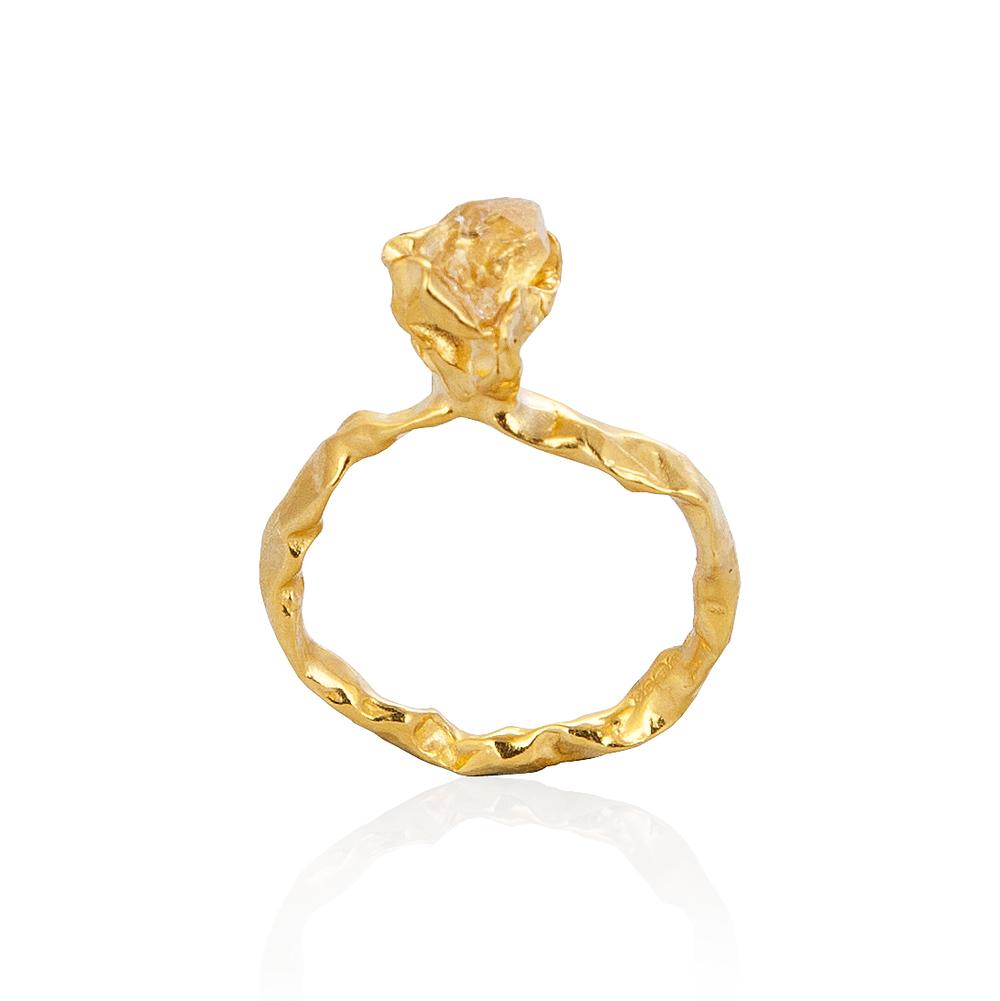 Niza Huang: Crush One Stone Ring | Jewelry > Rings,Jewelry -  Hiphunters Shop