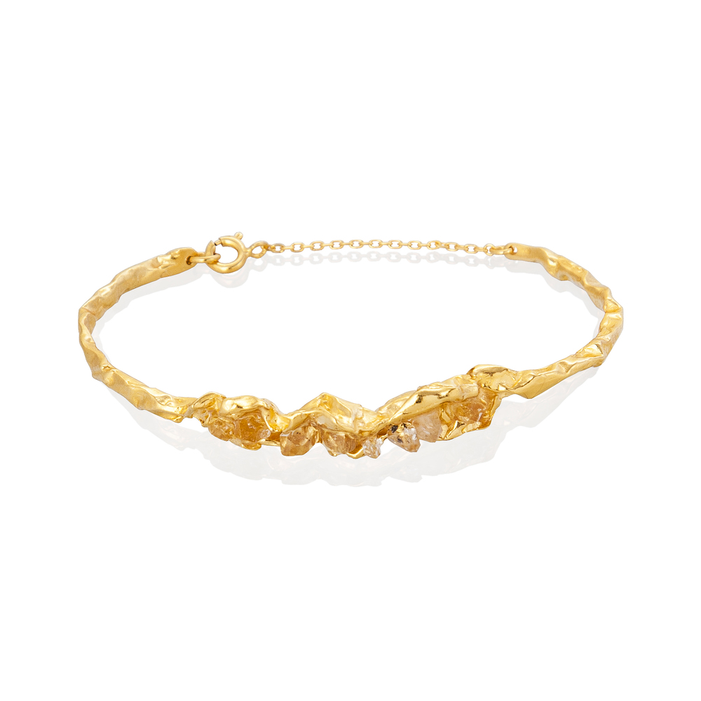 Crush Statement Bracelet - Gold