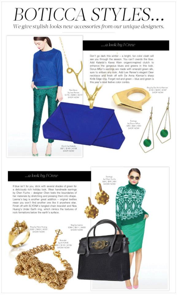 Our UNDER EARTH half texture gold ring is featured in BOTICCA STYLES :  http://boticca.com/  fashion-icons/  gold-bracelets-and-black-la  ema-bag-complete-these-jcr  ew-looks/