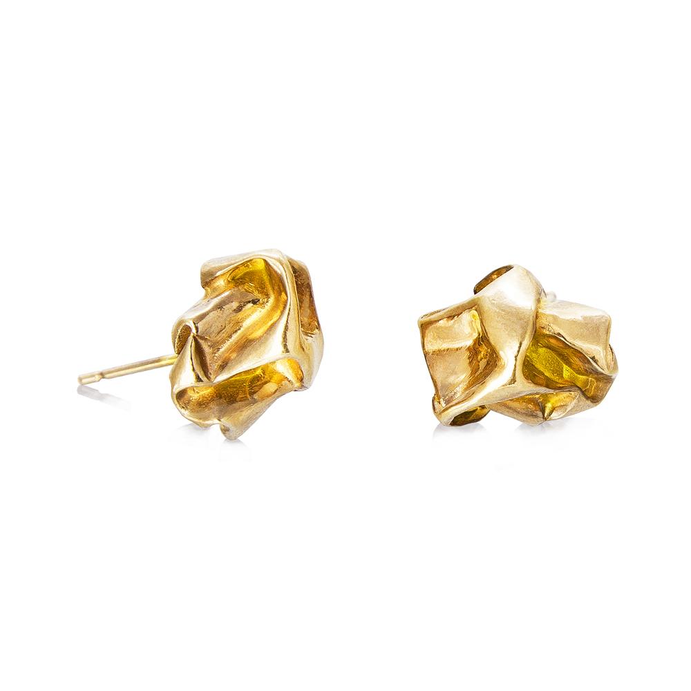 Niza Huang: Crush Plain Studs | Jewelry > Earrings,Jewelry -  Hiphunters Shop