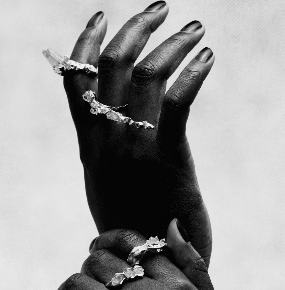 Niza Huang: Crush Long Ring | Jewelry > Rings,Jewelry -  Hiphunters Shop