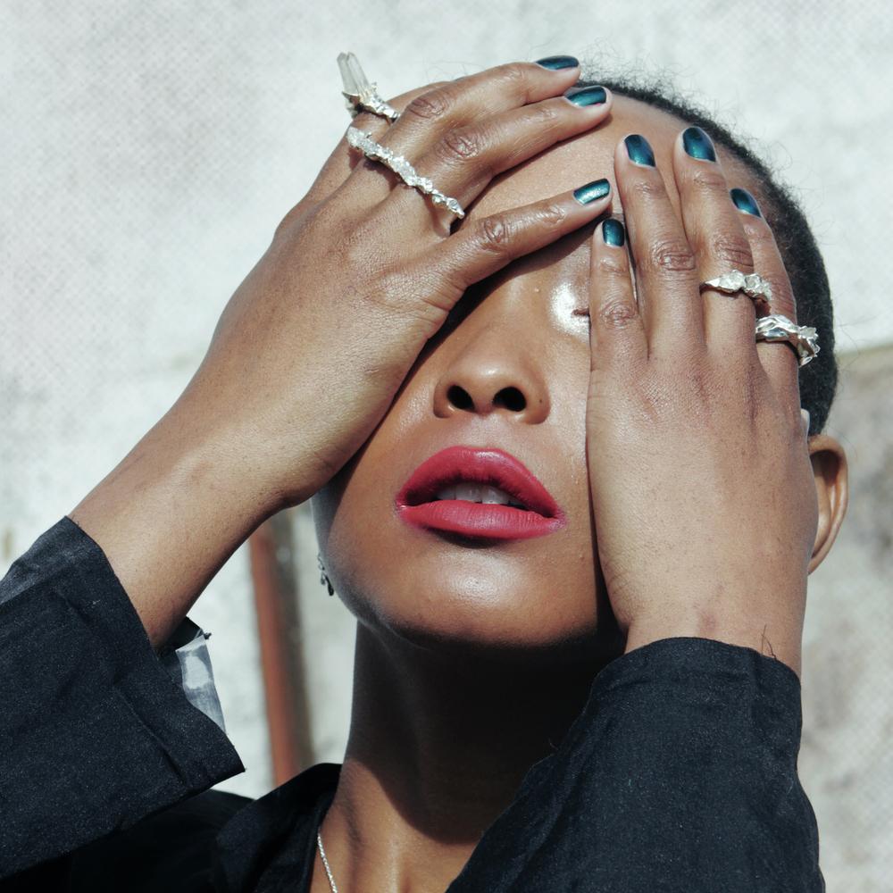 Niza Huang: Crush Long Ring - Silver | Jewelry > Rings,Jewelry -  Hiphunters Shop
