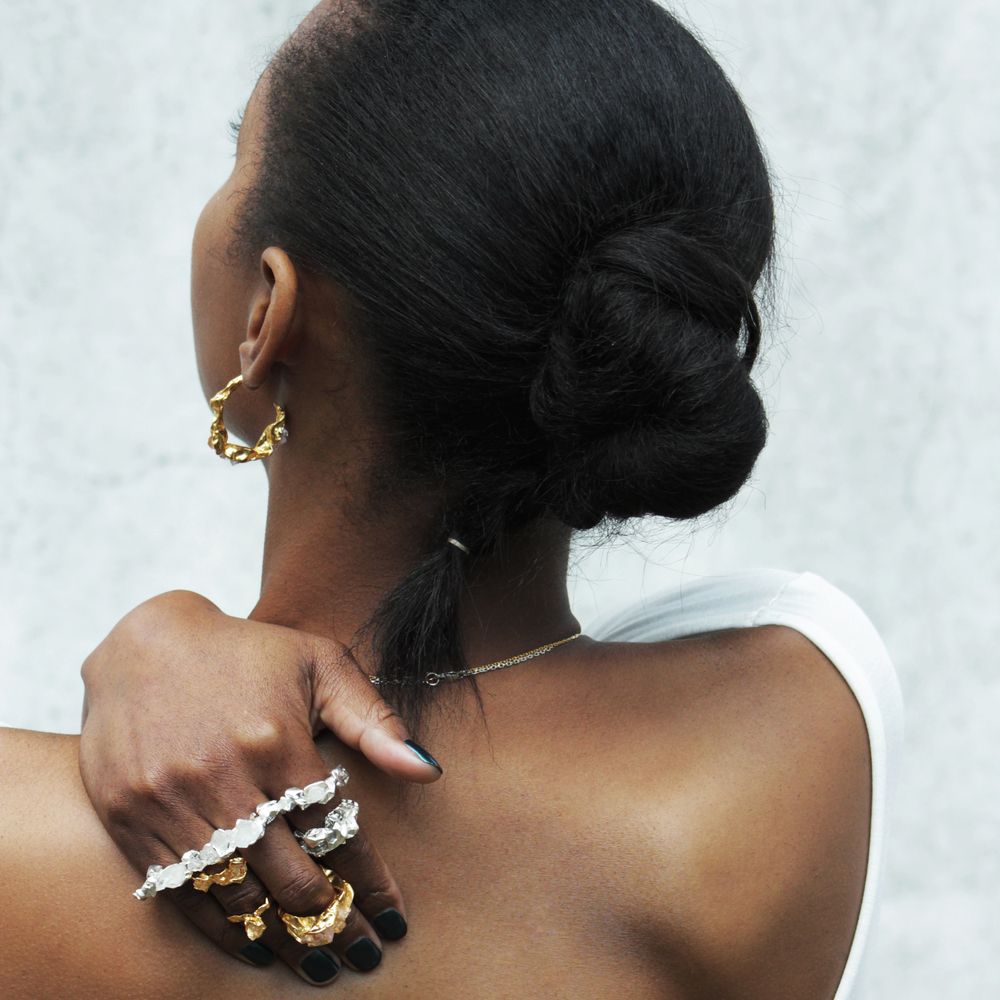 Niza Huang: Crush Chuncky Ring   Jewelry > Rings,Jewelry -  Hiphunters Shop