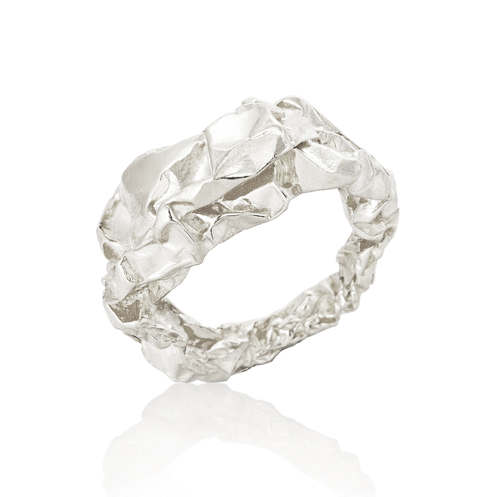 Crush Plain Ring