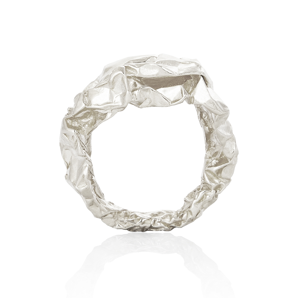 Niza Huang: Crush Plain Ring | Jewelry > Rings,Jewelry -  Hiphunters Shop