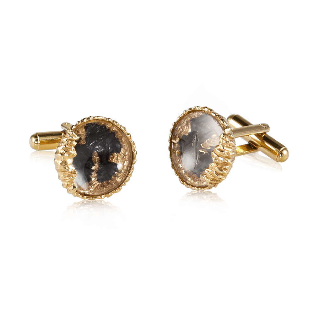 Niza Huang: Petroleum Cufflinks - Hiphunters Shop