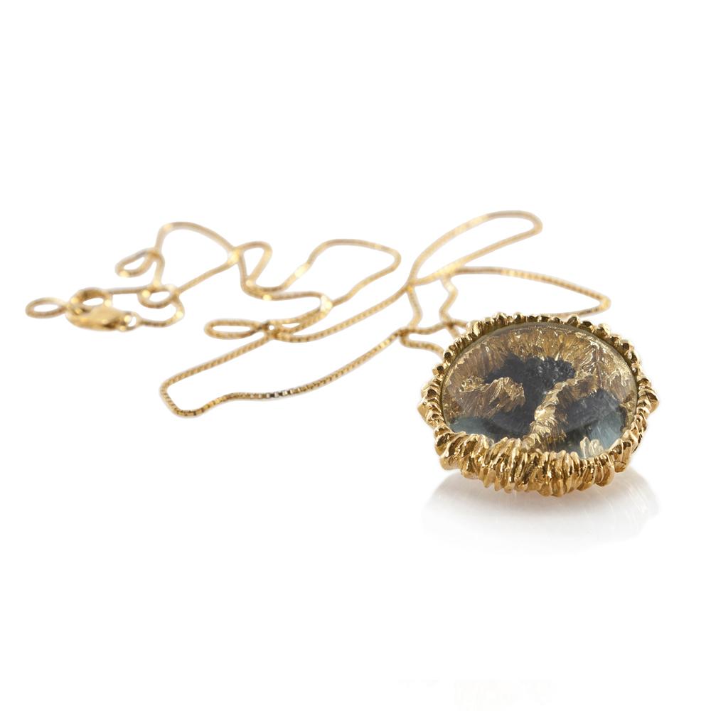 Niza Huang: Petroleum Big Pendant | Jewelry > Necklaces,Jewelry -  Hiphunters Shop