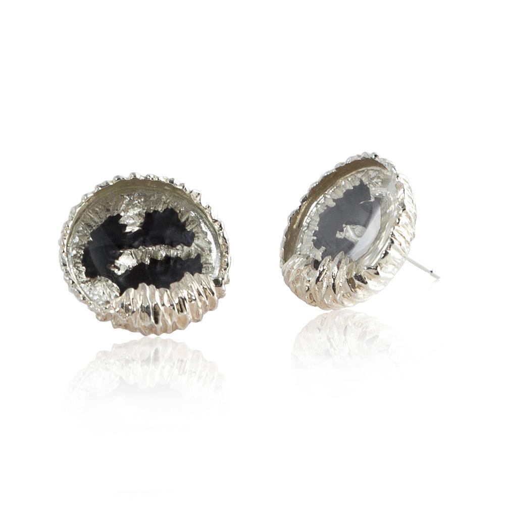 Niza Huang: Petroleum Earrings | Jewelry > Earrings,Jewelry -  Hiphunters Shop