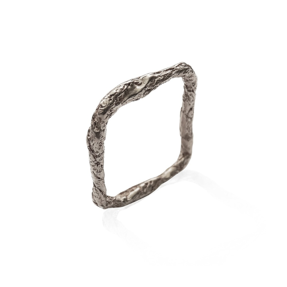 Niza Huang: Illusion Square Ring   Jewelry > Rings,Jewelry -  Hiphunters Shop