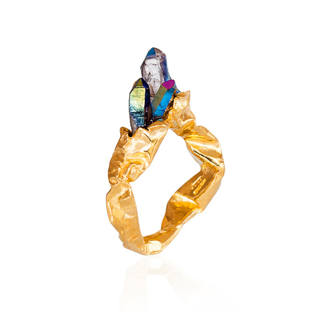 Crush Rainbow Statement Ring