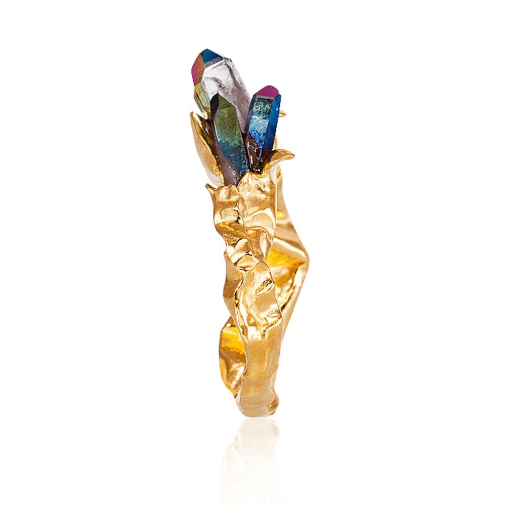 Niza Huang: Crush Rainbow Statement Ring | Jewelry > Rings,Jewelry -  Hiphunters Shop