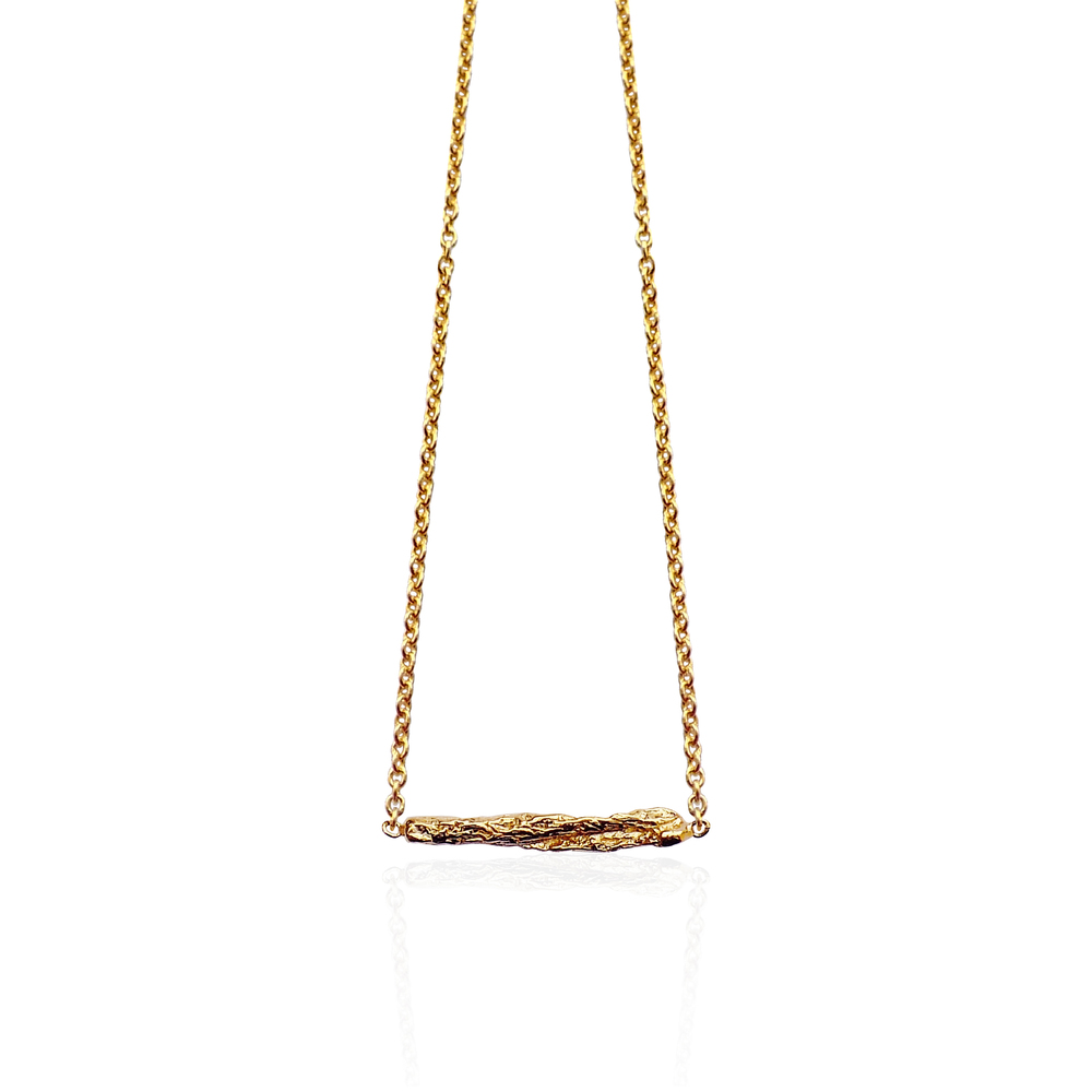 Short Stick Necklace - Gold