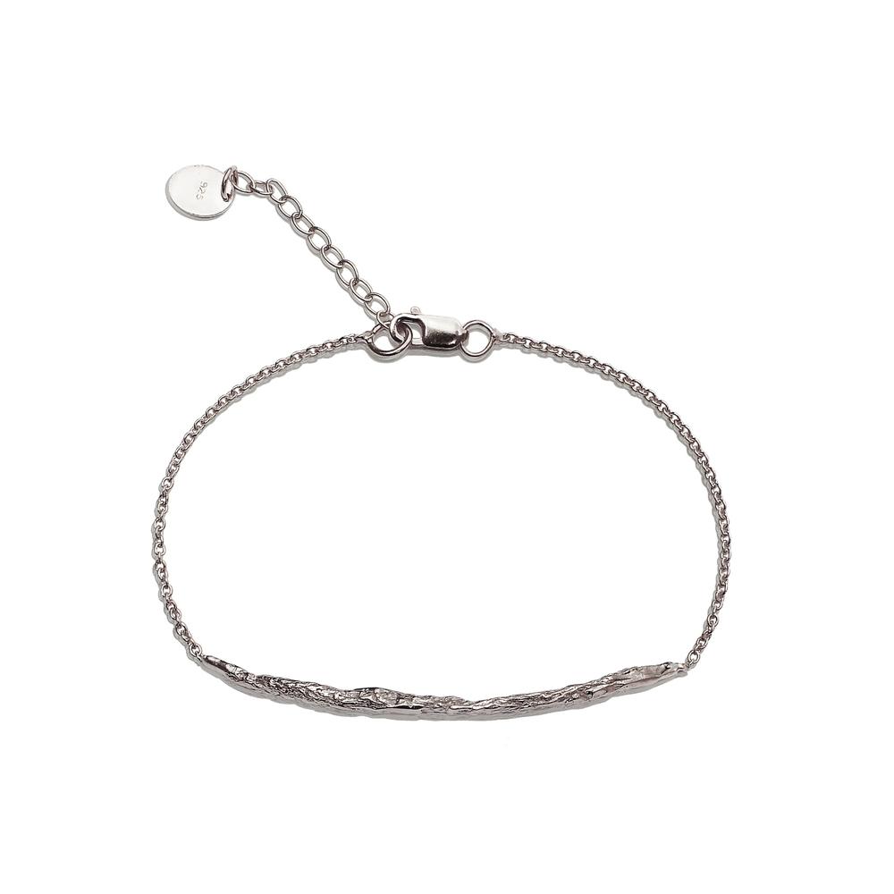 Long Stick Bracelet - Silver