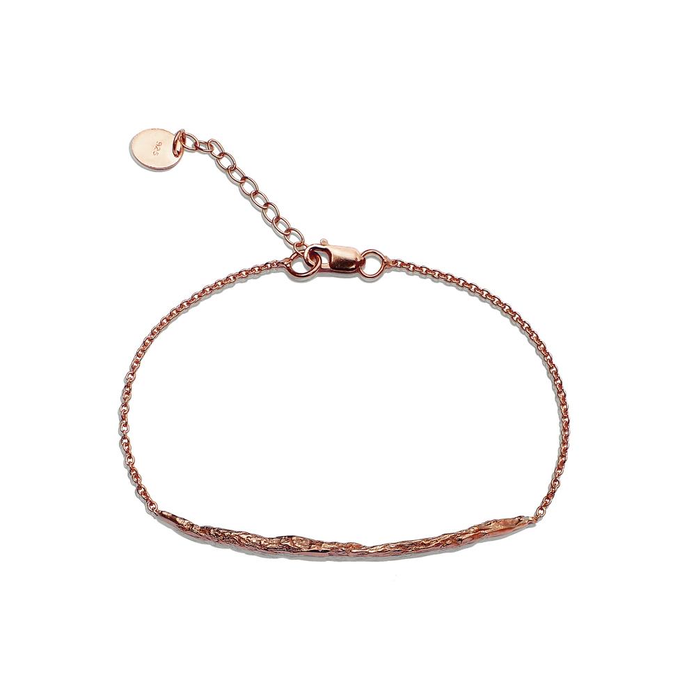 Long Stick Bracelet - Rose Gold