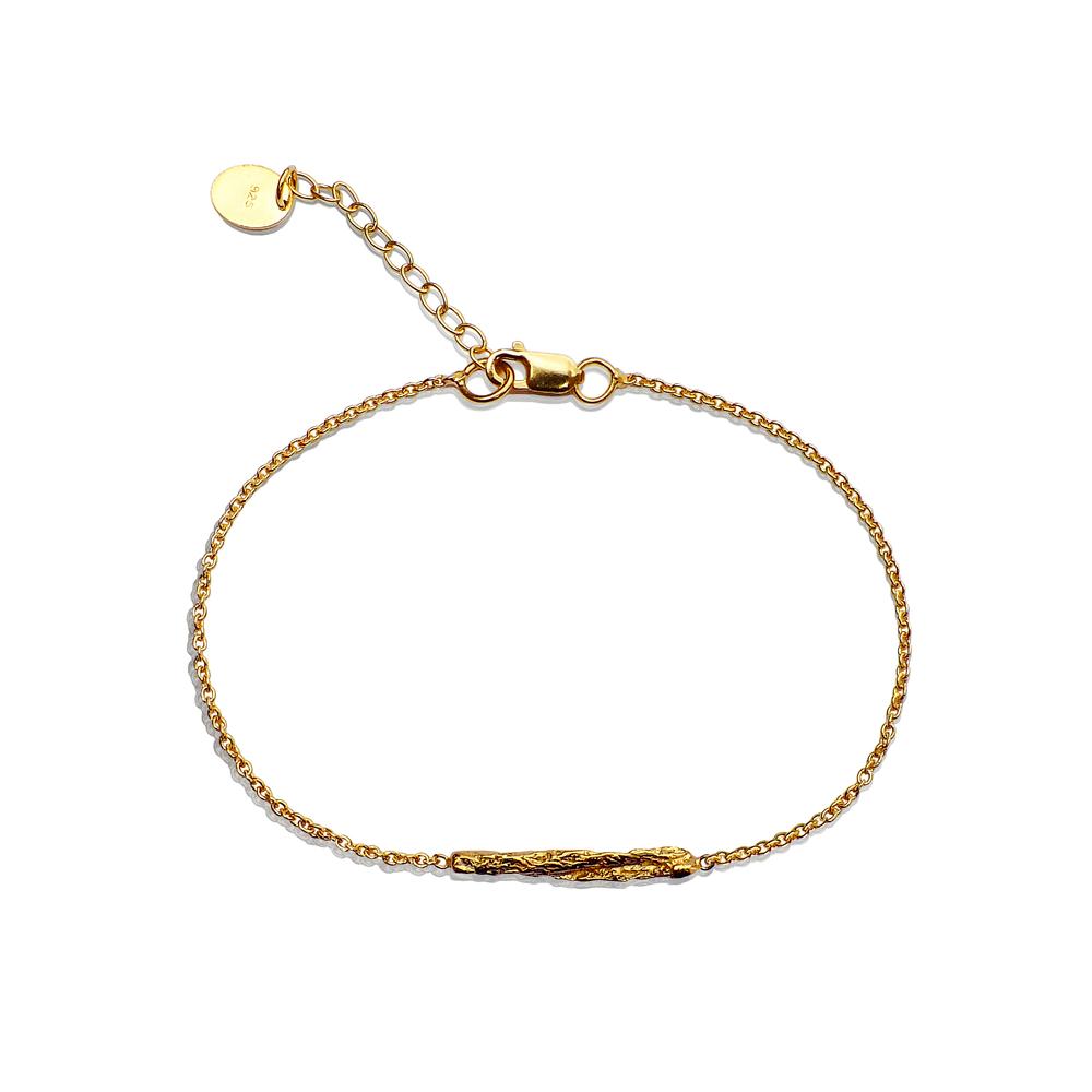 Illusion Short Stick Bracelet - Gold
