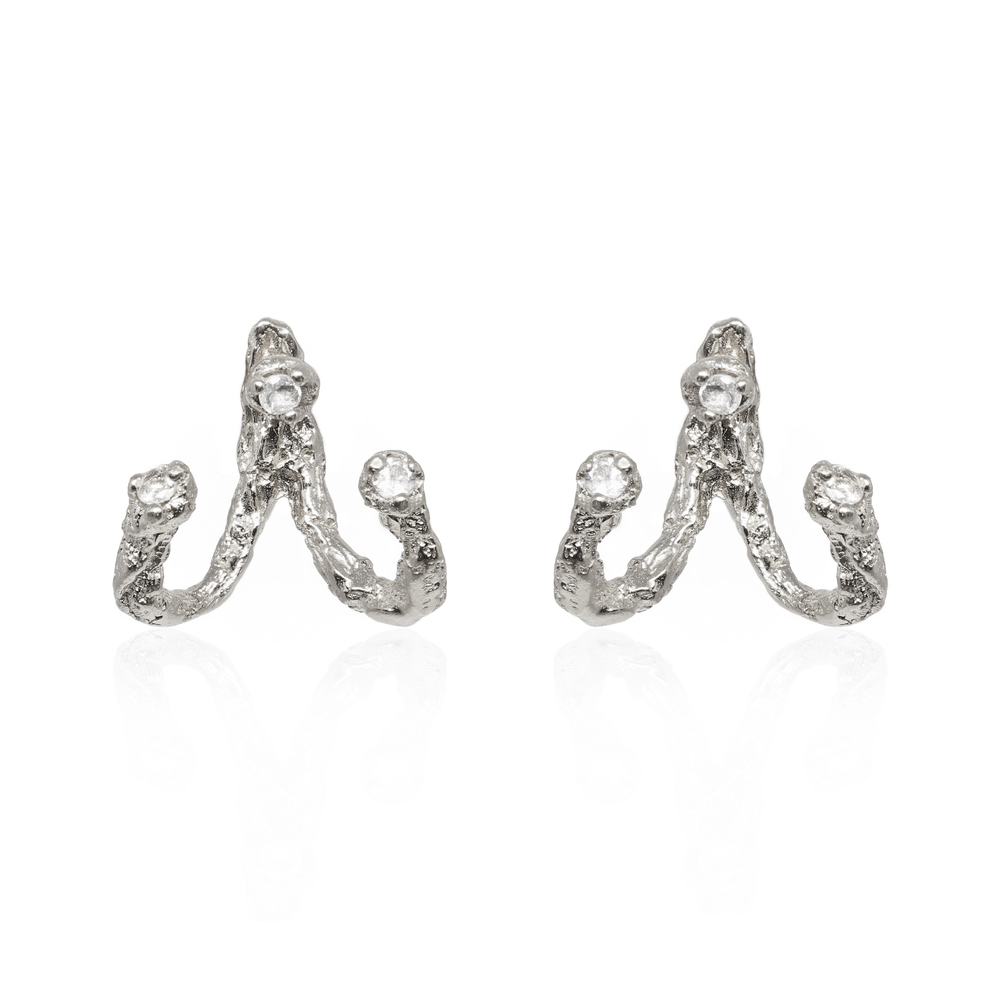 Moments Jacket Earrings - Silver
