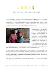 Lumen Fact Sheet