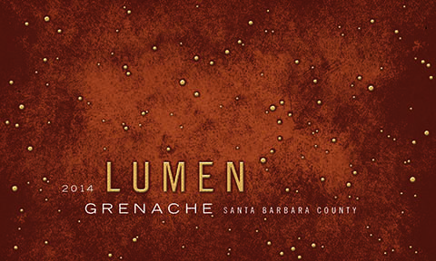 Grenache 2014 Label