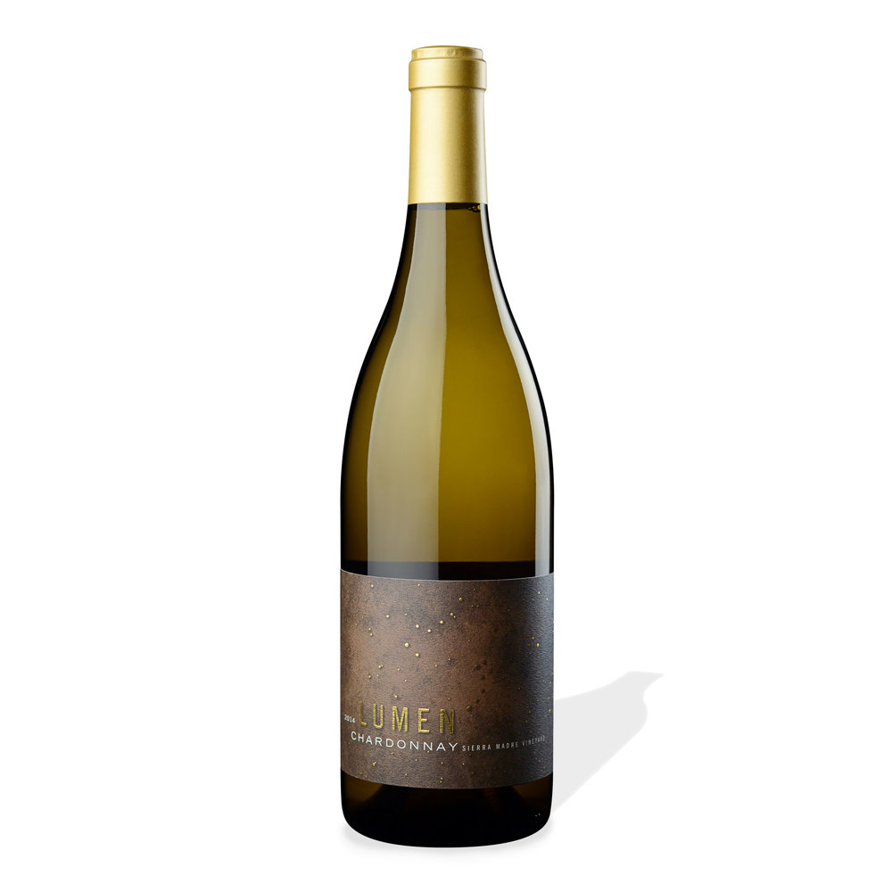 2014 Chardonnay Sierra Madre Vineyard Bottle Shot