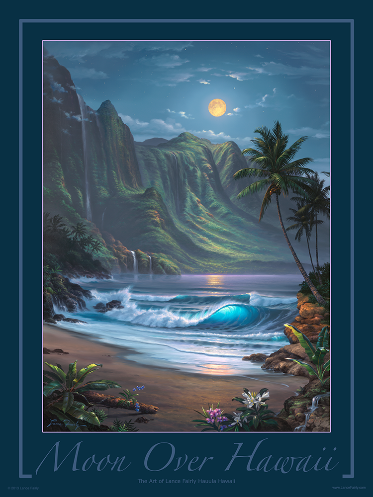 """Moon Over Hawaii"""