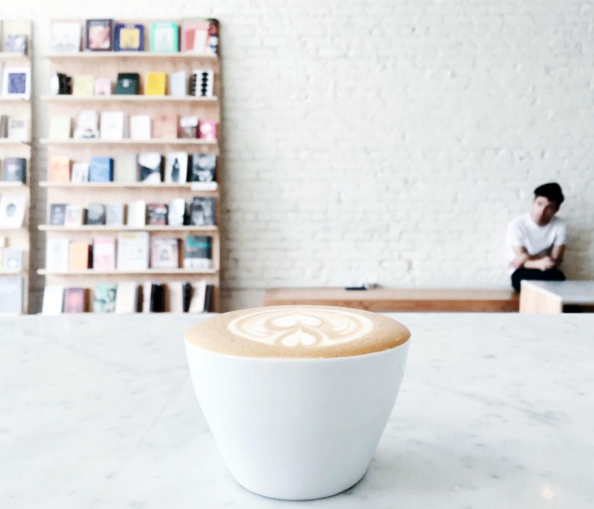 Eightfold Coffee Shop Los Angeles