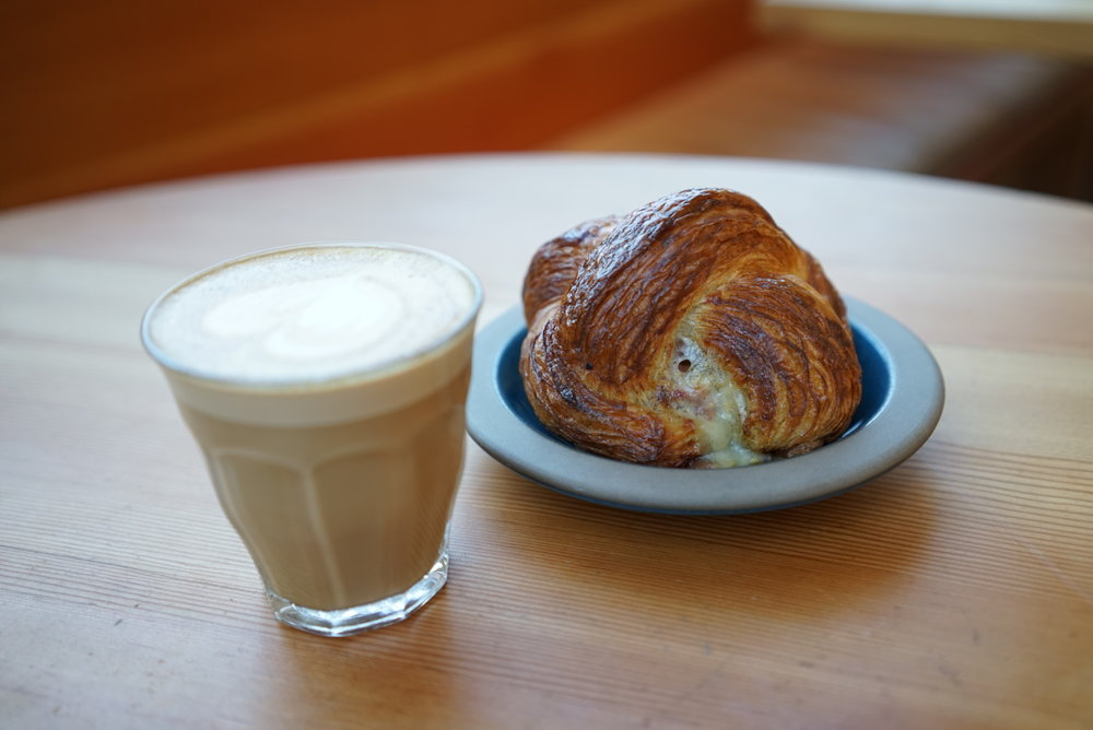 Ham, cheese & mustard danish at Tartine Manufactory