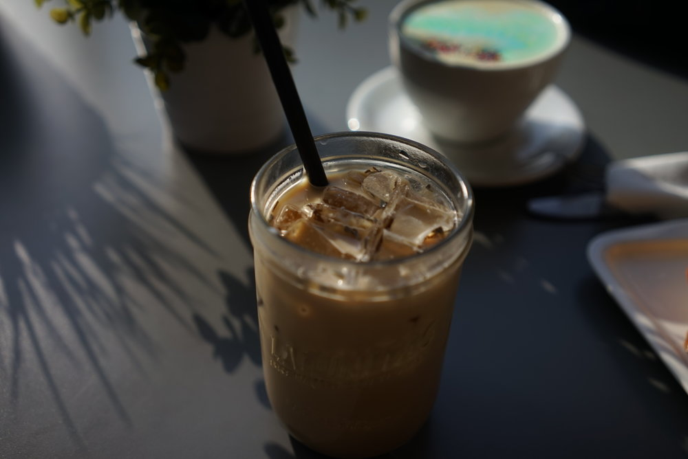 Iced Lavender Latte at Home Cafe | City Brewed
