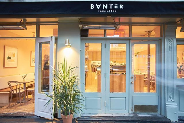 #NYC: have you been to @Banter_NYC yet? Our interview with the duo behind the digs is now live on #citybrewed (link in bio0o0). Check it out – then go grab a coffee (and the pulled pork baguette) you won't be sorry.