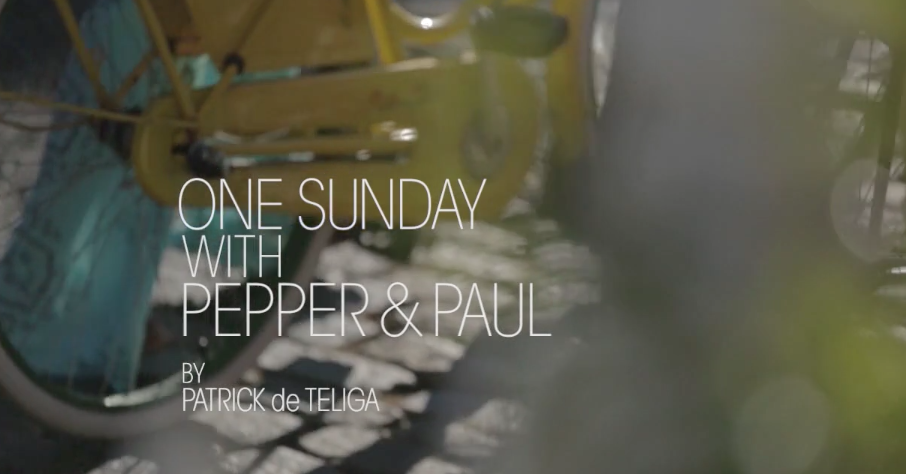 """ONE SUNDAY WITH PEPPER & PAUL"" - STYLIST"